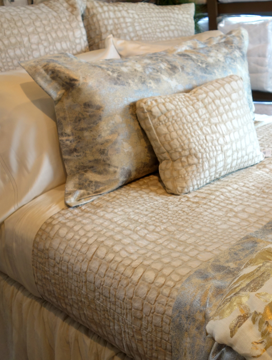 Croc Coverlet & Shams