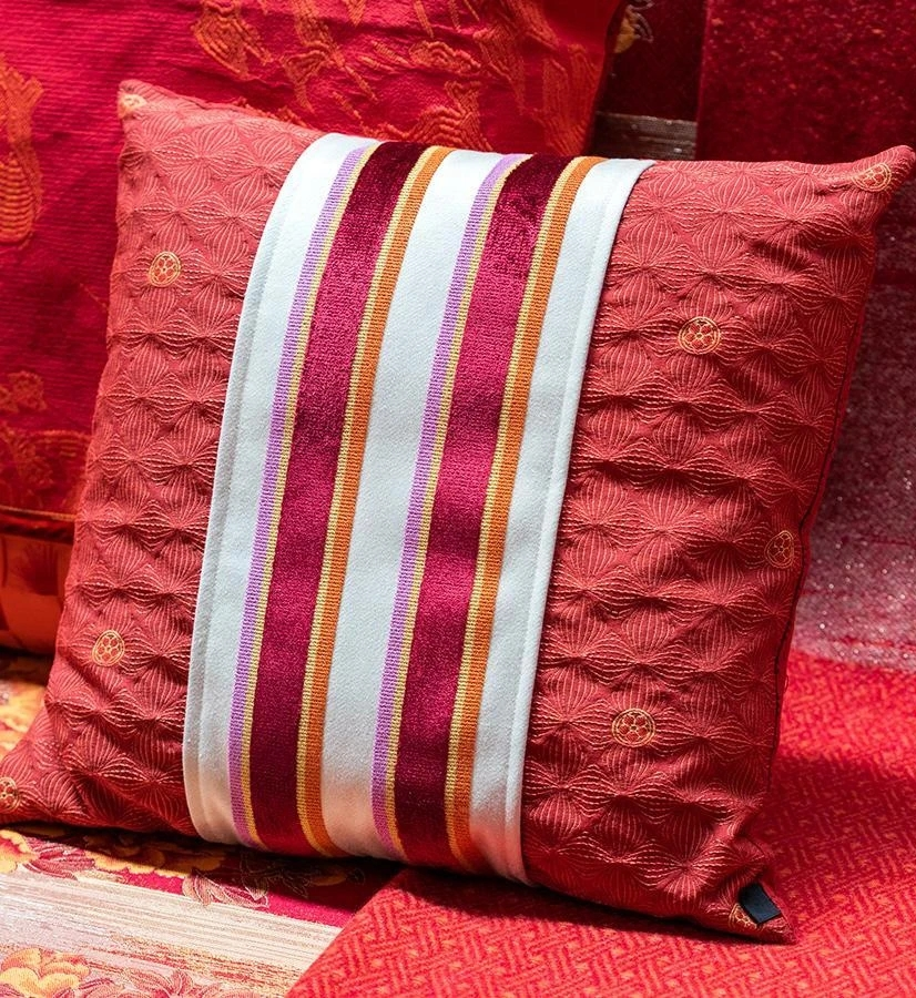 Sferra Kishima cushion