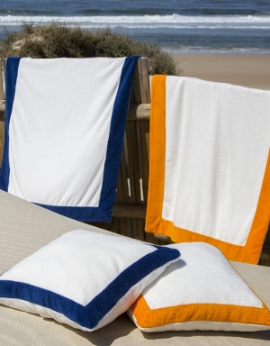 Portofino Throw Towels, Pillows