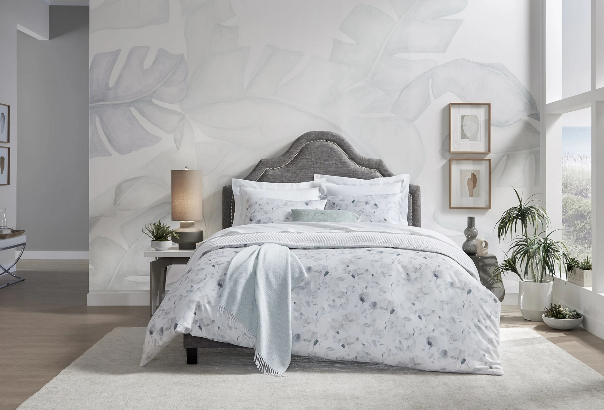 Nessina duvet cover and shams by Sferra